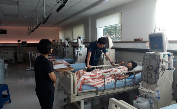 베데스다병원 인공신장실 야간투석 시행
