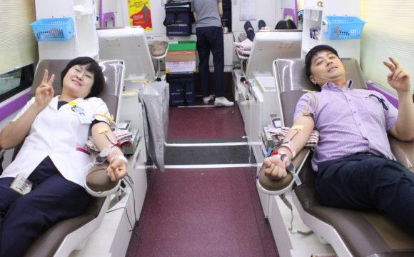 """베데스다병원 """"헌혈로 사랑을 전하다."""""""