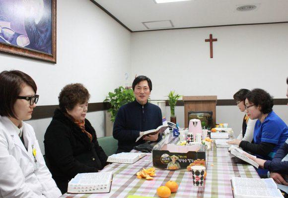 몽골 김정용 선교사님 병원 방문