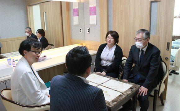 JASC 직원 및 치바현의원 의사 베데스다병원 연수