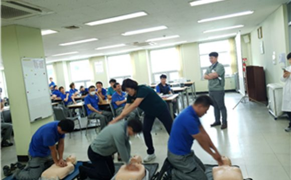 반도코리아 심폐소생술 교육