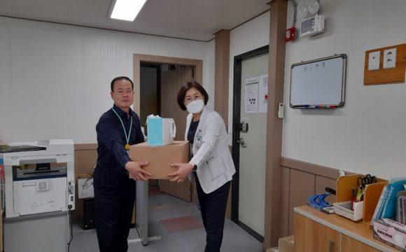 네이처셀 마스크 팩 전달(병원 홍보용)